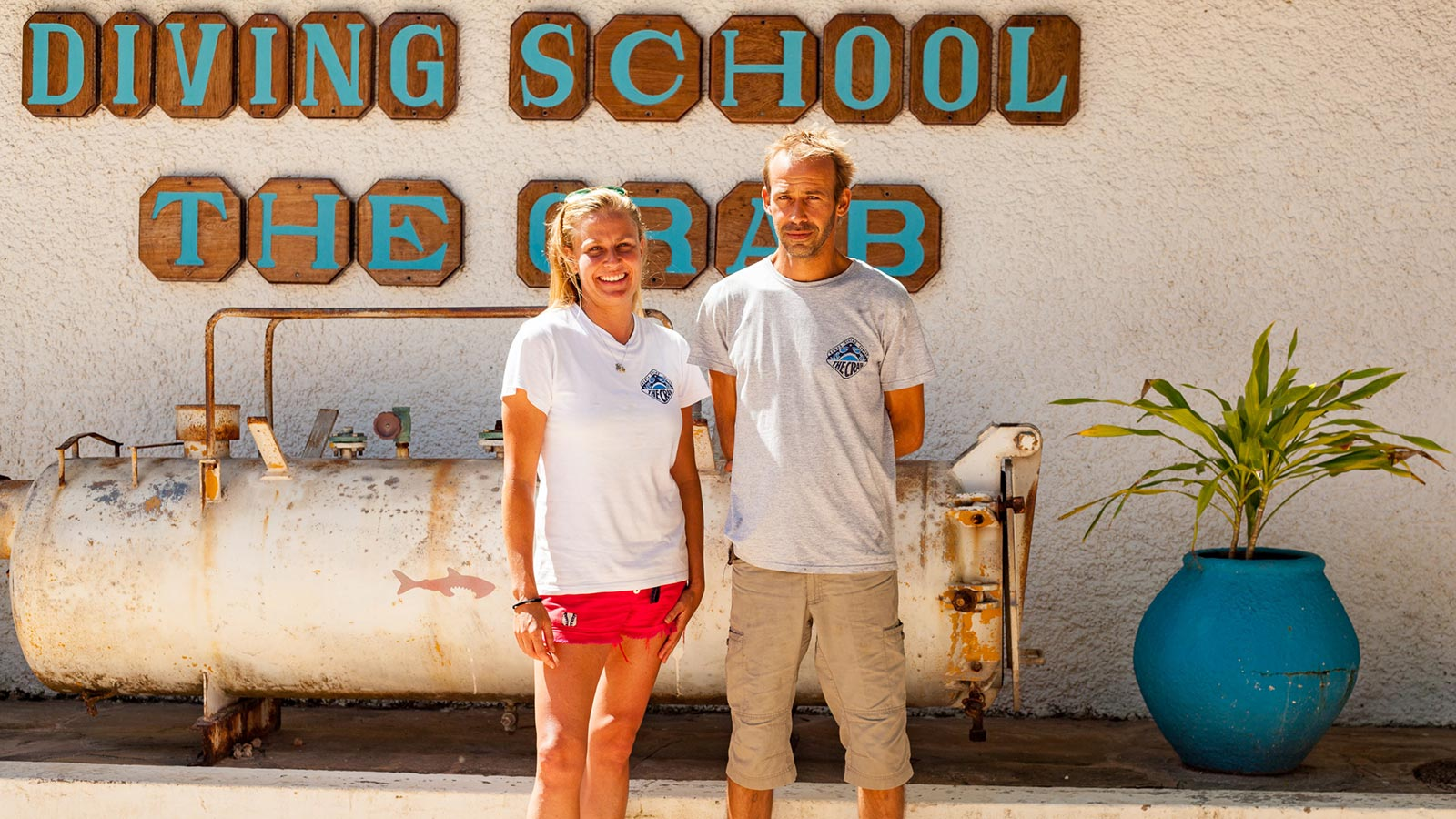 Dive Center Managers Sands at Nomad